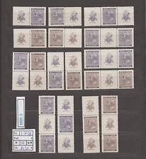 (E5669) B&M. Nr.73-74** Dovrak mit Zierfeldnern kpl.Zusammendrucke