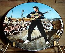 Elvis Presley In Performance BRADFORD Plate Collection