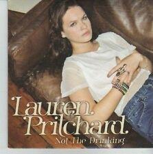 (CV645) Lauren Pritchard, Not The Drinking - 2010 DJ CD