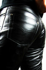 Leather Jeans Men Fuente Deluxe,Number 1 in the Leather products - TOP OFFER