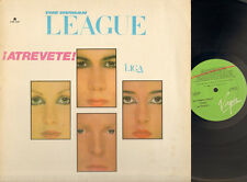 HUMAN LEAGUE DARE 1982 LP MEXICO English LYRICS Sleeve