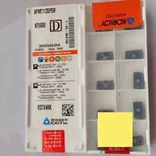 ORIGINAL KORLOY APMT1135PDR KF5800 CARBIDE INSERTS CNC TOOL APMT 1135PDR KF5800