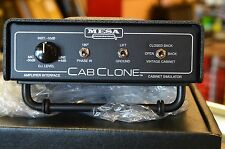 Brand New Mesa Boogie Cabclone Guitar Cabinet Simulator 16 ohm Free Shipping