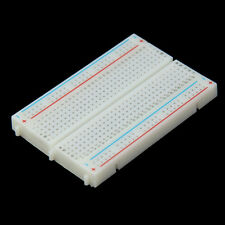 Mini Breadboard Solderless Protoboard PCB Test Board 400 Contacts Tie Points #W