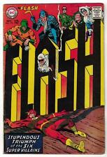 Flash 174 VGF 1967 DC Comics justice barry allen