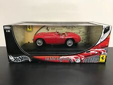 HOT RED Ferrari 166 MM Barchetta Wheels Metal Collection 1:18 scale