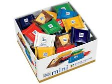 Ritter Sport Mini Chocolate Bars Individual 84ct ,7 flavours !NEW from Germany