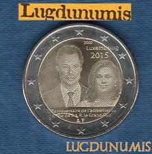 2 euro Commémo - Luxembourg 2015 Trone Grand Duc Henri