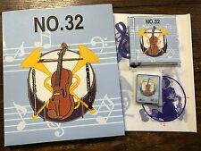 Musical Instruments Embroidery Card #32 Bernina Bernette Deco Brother Baby Lock