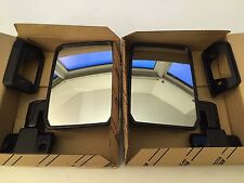 Land Cruiser 70 Series Black Side Mirrors  - Also Fits FJ60