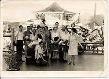 1962 SITA Tourists TaI Pak Floating Restaurant HONG KONG Aberdeen Harbor Photo