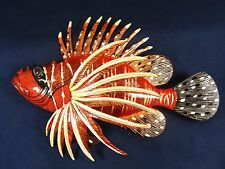 """Lion Fish Tropical Reef 8"""" Wall Plaques Nautical Home Decor (D)"""