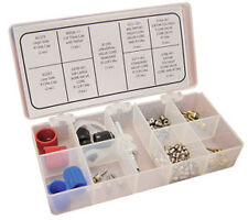 ATD R12 - R134a A/C Valve Core and Cap Assortment with Valve Core Tool # 3880