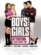 Affiche 120x160cm BOYS AND GIRLS (2001) Freddie Prinze Jr., Claire Forlani
