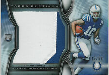 2014 TOPPS PLATINUM #PRP-DM DONTE MONCRIEF ROOKIE RC 2-COLOR PATCH COLTS 16/68