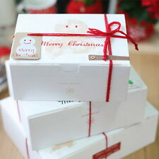 10pcs Colorful Box Wedding Party Candy Cake Gift Boxes Christmas Snowman