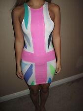 "Motel Rocks ""New Zoe"" Union Jack print Multi-color Dress size XS"