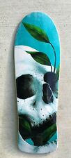 Old school Pool skateboard shape Graphic deal Canadian maple SKULL gripped D21