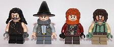 LEGO Hobbit Il Signore degli Anelli - 4 SHIRE cittadini hobbits-custom-solo LEGO