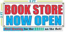BOOK STORE NOW OPEN Banner Sign NEW Larger Size Best Quality for the $$$