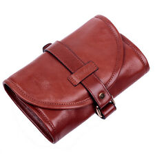 FIREDOG Vintage Style Leather Tobacco Smoking Pipe Pouch Bag Hold Tool lighter..