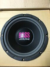 "NEW Old School Alpine 6126GX ""BASS"" 12"" subwoofer,Rare,Vintage,MADE IN Japan"