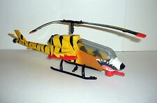 GI JOE TIGER FORCE TIGER FLY Vintage Vehicle Helicopter COMPLETE & WORKS 1988
