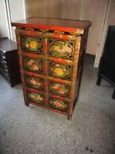 Antike Chinesisch Tibetische Kommode Tibet China  Asia Möbel Breite62xHöhe96cm