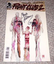FIGHT CLUB 2 #8 COMIC BOOK SIGNED BY CHUCK PALAHNIUK AUTHOR w/COA DARK HORSE