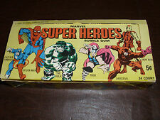 Vintage Marvel Donruss Counter Display Box Avenger Card Rare Marvelmania NM 1966