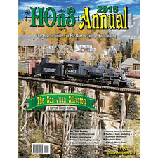 HOn3 ANNUAL - 2015 Just Published NEW BOOK - (How-To Guide for HO Narrow Gauge)