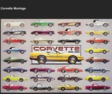 Corvette History 1953-1986 Winter SPECIAL!! Limited Time Offer!! Car Poster!