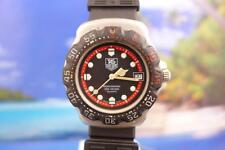 Tag Heuer Classic Black/Red Formula 1 Men's/Ladies' 37mm Quartz