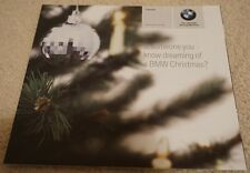 BMW Lifestyle Christmas Merchandise Gifts Brochure Clothes Key Fobs Cap Watch