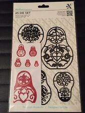 Xcut A5 Die Set Russian Dolls 5pc 503235 New/Sealed ** Deal of The Week **
