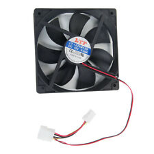 4 Pins 120mm Case Fan 12V 40CFM High Quality for PC CPU Computer Cooling Black