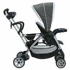 Graco Room for 2 Classic Connect and Click Connect Stand and Ride Stroller,