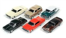 MINT RELEASE 2 SET A SET OF 6 CARS 1/64 DIECAST BY RACING CHAMPIONS RC002A