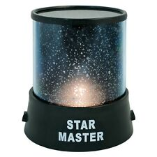 CHILDRENS STAR MASTER NIGHT LIGHT SKY LED PROJECTOR MOOD LAMP KIDS BEDROOM XMAS
