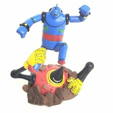 Time Slip Glico Mini Diorama Figure Tetsujin 28 vs Monster Kaiyodo Japan