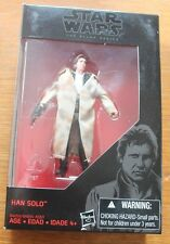 Han Solo trenchcoat Black Series ENDOR Star Wars MOC trench coat ROTJ Walmart