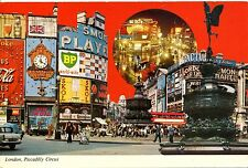 Alte Postkarte - London, Piccadilly Circus