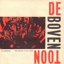 "DE BOVENTOON ‎– Speelt 'Live' In Het BIM-Huis (RARE 1975 DUTCH JAZZ SINGLE 7"")"