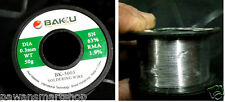 BAKU BK-5003 thin Soldering wire with Leaded 60/40 Flux Cored - Net. 50 g Spool