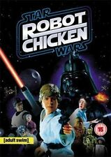 STAR WARS ROBOT CHICKEN ADULT SWIM GEORGE LUCAS REVOLVER UK REG 2 DVD NEW SEALED