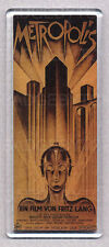 METROPOLIS large fridge magnet - RETRO COOL !