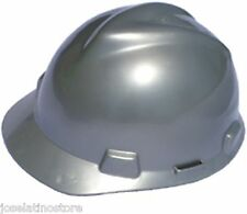 MSA SILVER V-Gard Cap Style Safety Hard Hat Ratchet Suspension NEW Fast Ship!