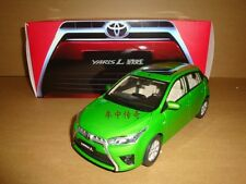 1/18 2013 new TOYOTA YARIS green color