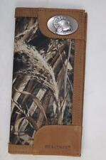 ZEP-PRO TURKEY Leather & Nylon REALTREE MAX-5 Roper Camo WALLET BURLAP GIFT BAG