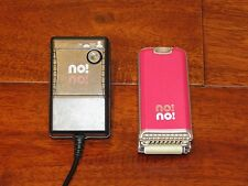 NO!NO! Pink Permanent Hair Removal System Epilator Shaver Shaving USED